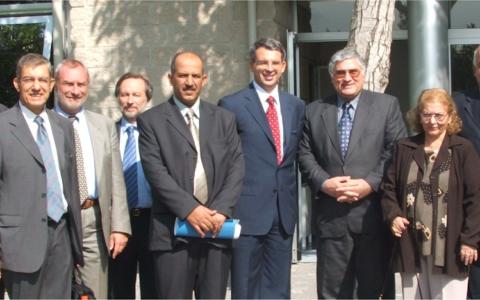 Formazione dei nuovi dirigenti della pubblica amministrazione irachena in seguito al cambio di governo dopo la morte di Saddam Hussein nel 2006.